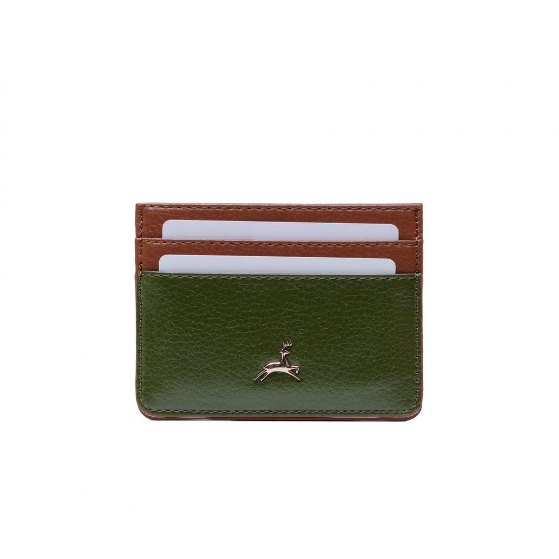Bira-card-wallet-green-brown-1